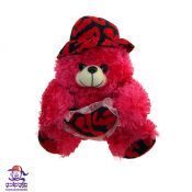 خرس قرمز قلب به دست سایز 1